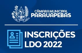 Inscrição Audiência Pública LDO2022